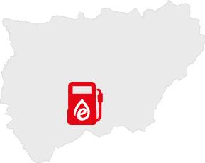 provincia de jaén Gasolineras Bajo Coste en Jaén - Precio y Servicio - Energy Carburantes