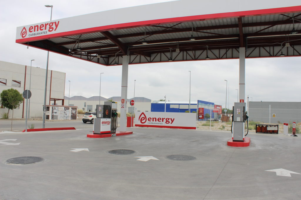 Gasolinera Energy Olivares