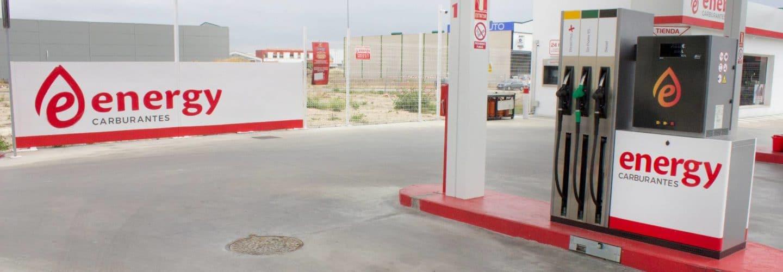 Gasolineras de Energy Carburantes - Gasolineras Jaén