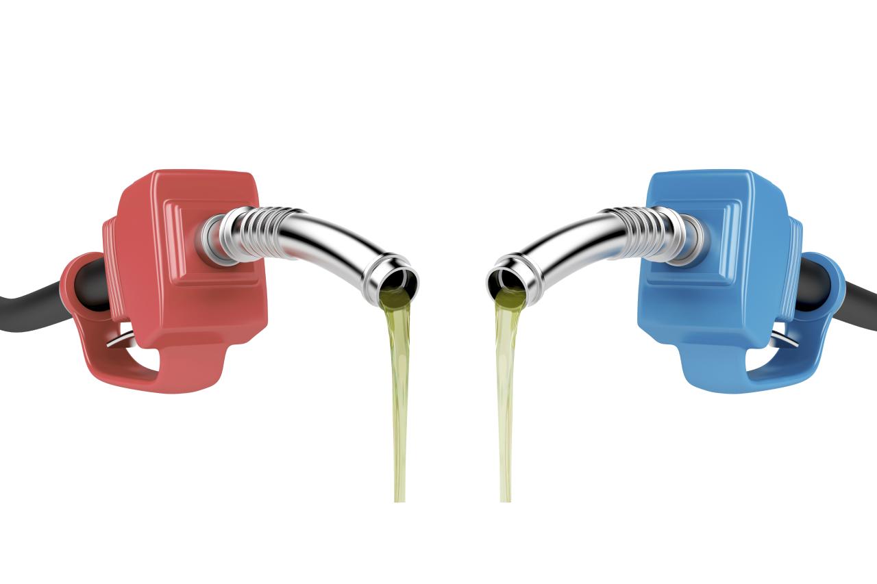 Diésel Vs Gasolina En Energy Carburantes