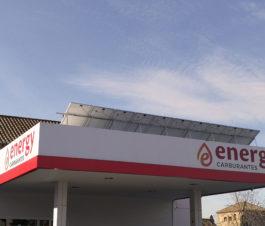 Placas Solares Gasolineras