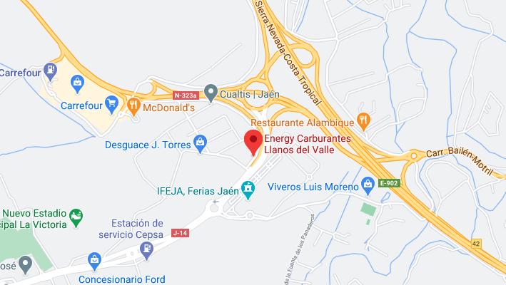 Direccion Energy Carburantes Llanos Del Valle